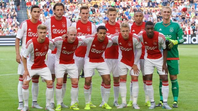 Ajax selectie 2015 - 2016