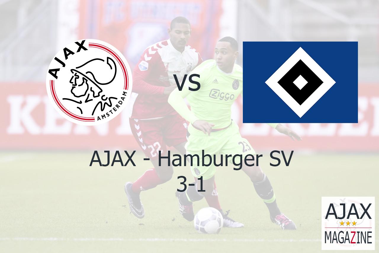 Oefenduel HSV – AJAX 20160109 – Eindstand