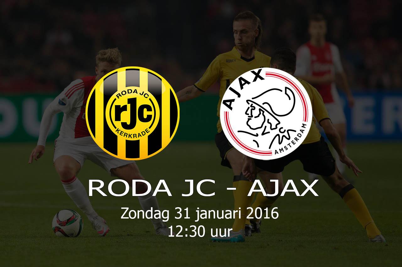 Roda JC – AJAX – 20160131