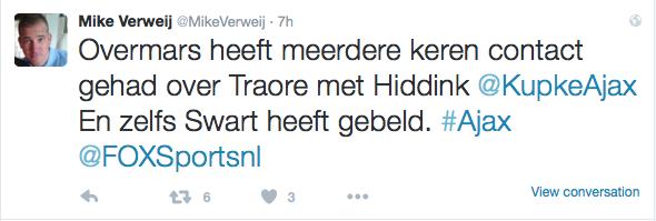 Tweet-Mike-Verweij-Transfer