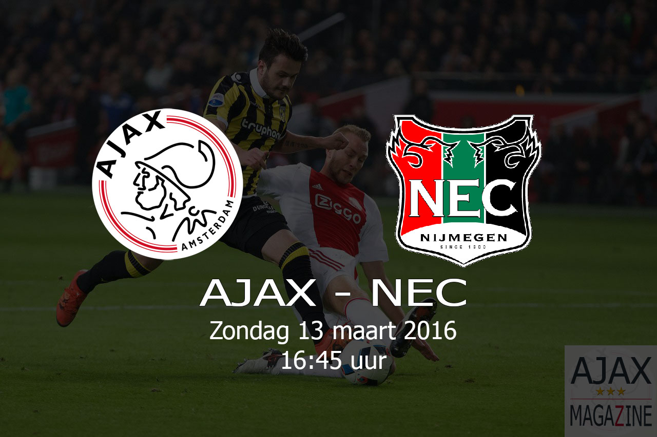 AJAX – NEC – 20160313