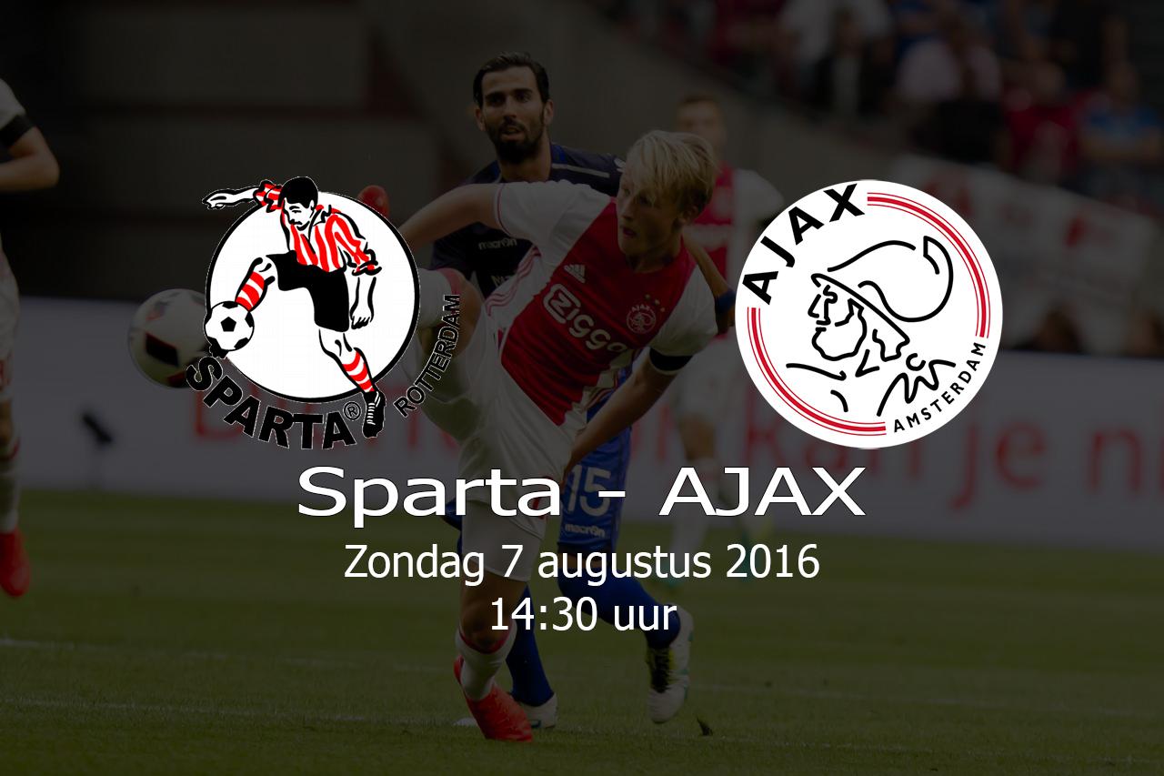 Sparta – AJAX – 20160807