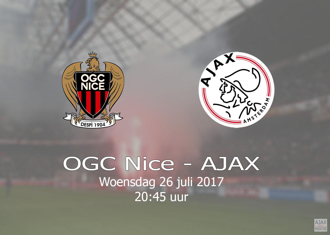 OGC Nice – Ajax – 20170726