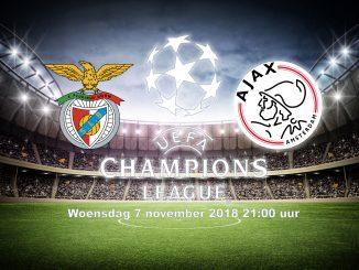 Benfica - Ajax 7 november 2018 Champions League